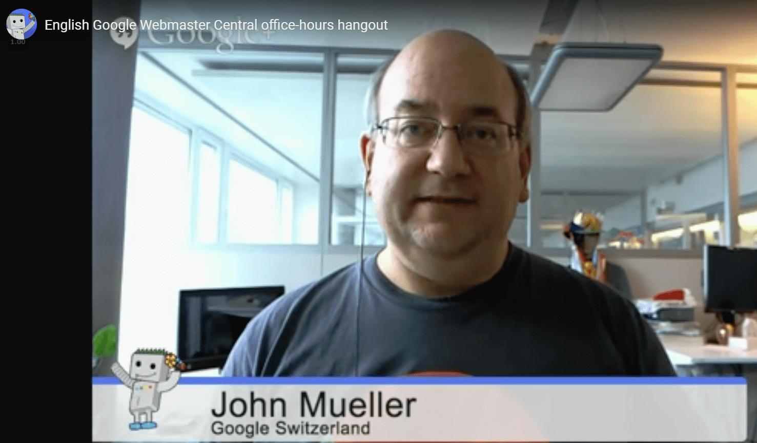 Google ジョン・ミラー